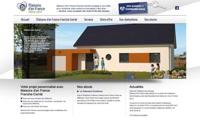Voir le site www.maisonsdenfrance-fc.fr