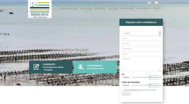 Voir le site : www.morbihan-emplois.fr